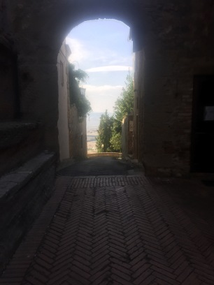 Lovely path to the Panoramic Terrace