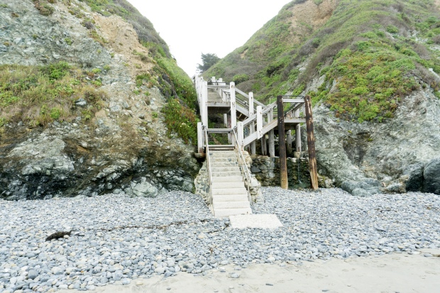 Big_Sur_Sand_Dollar_Beach_Staircase